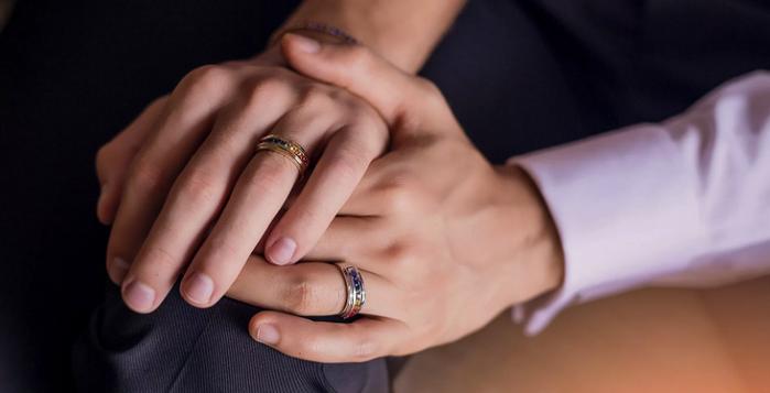 на каком пальце руки носят обручальное кольцо