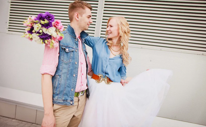 свадьба без гостей