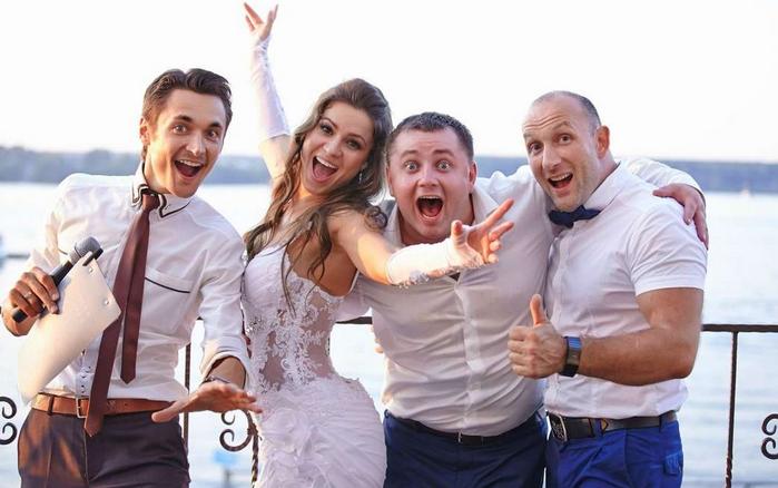 свадьба на природе без тамады