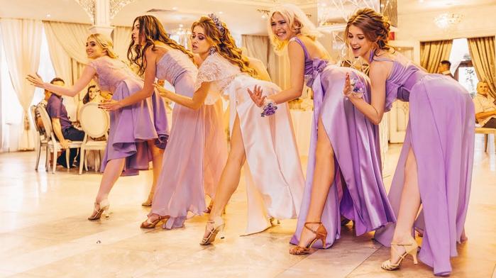 танец невесты на свадьбе