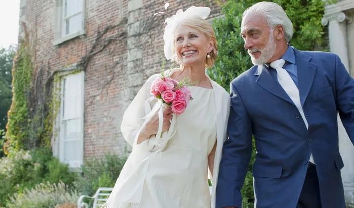 70 лет совместной свадьбы