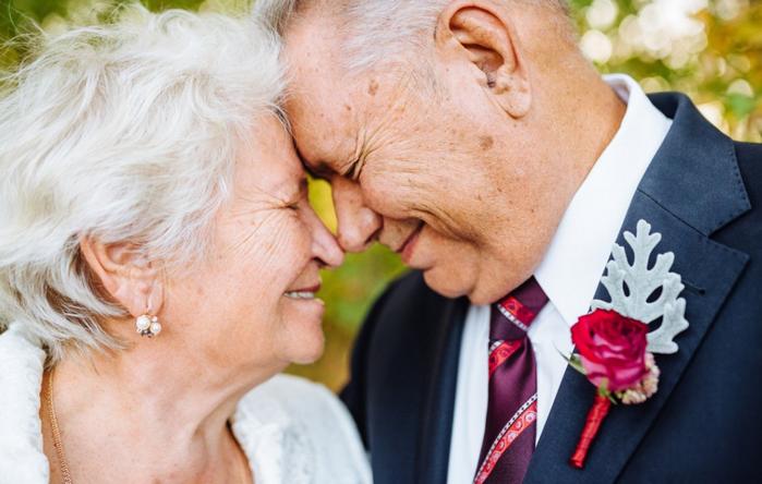 свадьба 65 лет совместной жизни