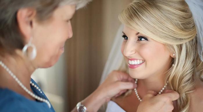 свекровь невестке на свадьбе