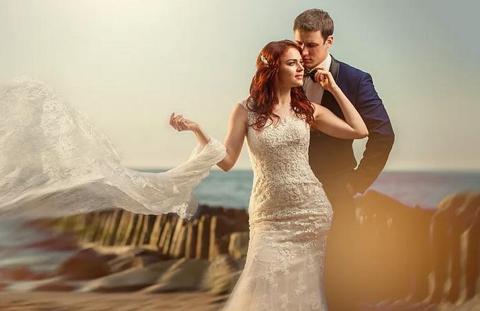 фотосессия в свадебном стиле