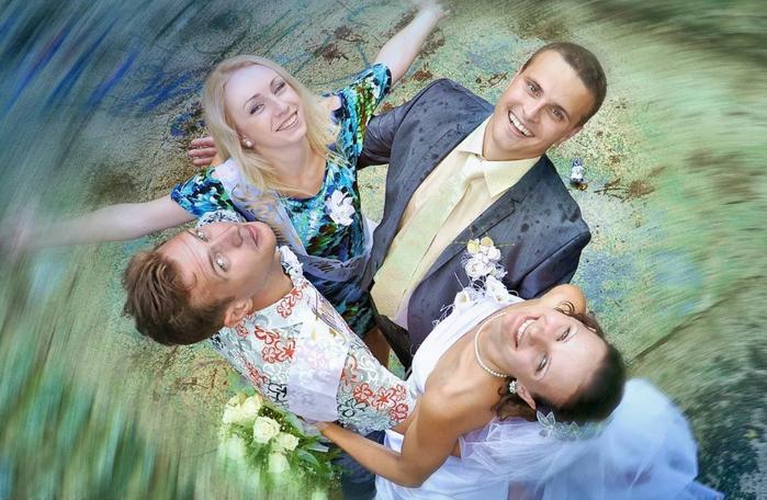 русская свадьба скрытая