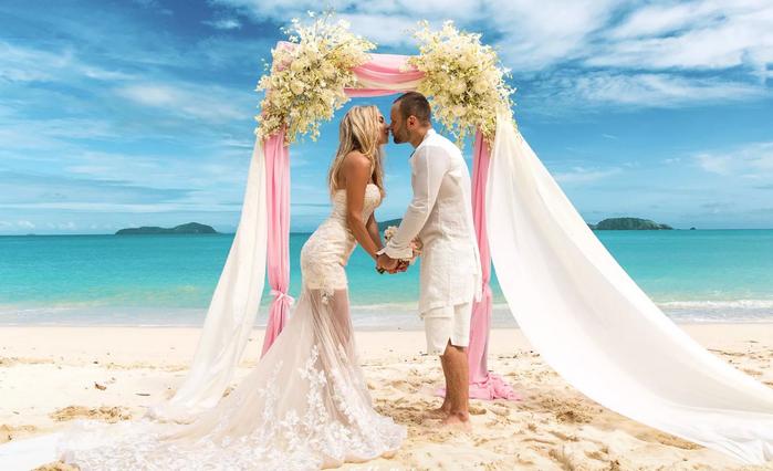 свадьба на море в Крыму