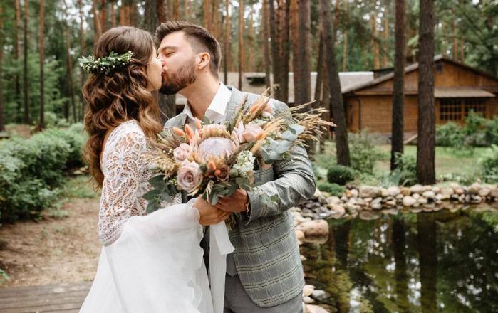 свадьба маленькой компанией