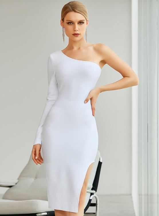 свадебное платье прямого покроя