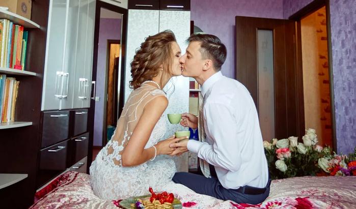 как сделать домашнюю свадьбу