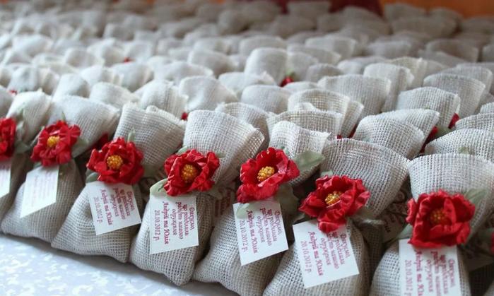 маленькие подарки гостям на свадьбе