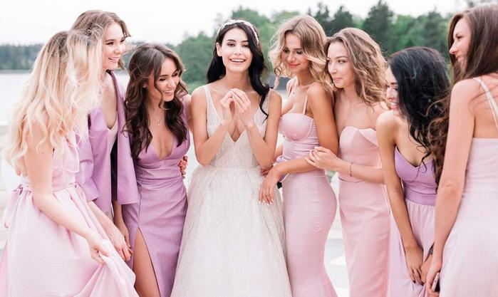 в каком платье пойти на свадьбу осенью